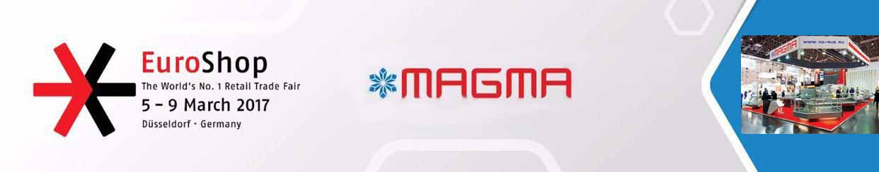 MAGMA presented its new products at the EuroShop 2017 expo